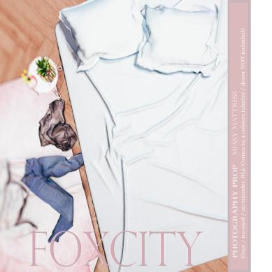 FOXCITY. Prop - Messy Mattress AD